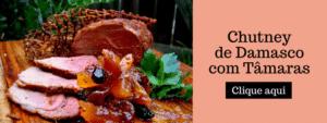 Chutney de Damasco - Doces Carmen